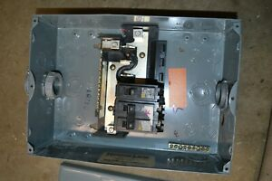 Square D Hom612l100 Homeline 100 Amp 6 space 12 circuit With 70 20 Amp Breaker