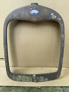 1928 1929 Model A Ford Radiator Shell Grill Grille Original Pickup Truck 28 29 4