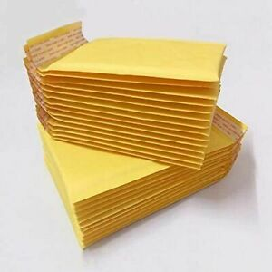 100 00 5x10 Small Self Seal Kraft Bubble Mailers Padded Envelopes 5 X 9