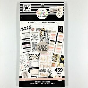 The Happy Planner Wild Styled Sticker Book Me My Big Ideas Mambi