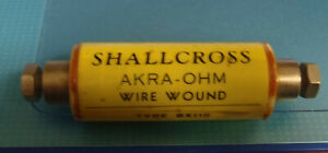 Shallcross High Accuracy 1 Ohm Resistor 0 05 Accurate Standard Bx100