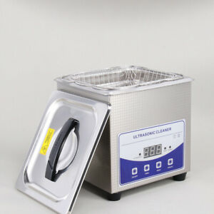 2l Ultrasonic Cleaner Cleaning Equipment Liter Industry Heated W Timer Heater