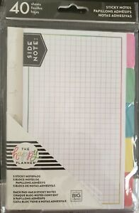 New Happy Planner Sticky Note Tabs Brights 40 Sheets