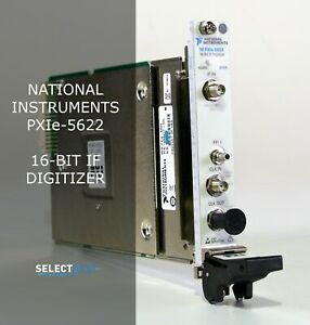 National Instruments ni Pxie 5622 16 Bit If Digitizer look ref Feag