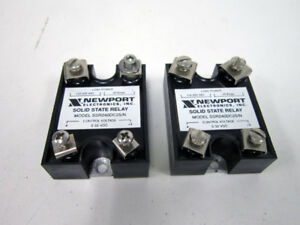 2x Newport Electronics Inc Ssr240dc25 n Solid State Relay