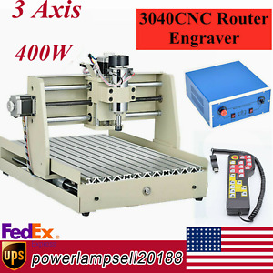 3 Axis 3040 Cnc Router Engraver Machine Engraving Milling Machine 3d Rwmote