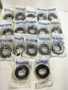 Ruland Msp 45 f Nomar Two Piece Shaft Collar Clamp Style Steel 45mm Lot Of 17