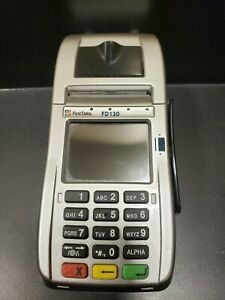 First Data Fd130 Credit Card Machine untested