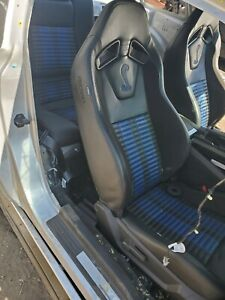 2010 2014 Ford Mustang Gt500 Cobra Front Rear Leather Recaro Seats