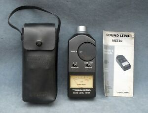 Realistic Sound Level Meter In Case W ib 33 2050