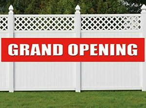 Nimab Grand Opening Banner Store Restaurant Grocery Shop Advertising Business