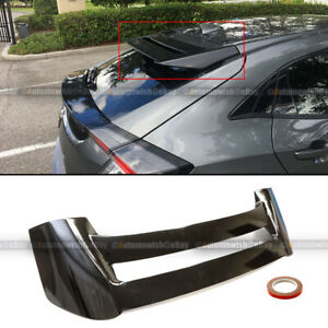 For 16 20 Civic Hatchback Mugen Style Glossy Black Rear Window Roof Wing Spoiler