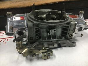 Holley 1000 Cfm Hp Carburetor 4150 With Quikfuel Bowls 10 Speed Extreme Used