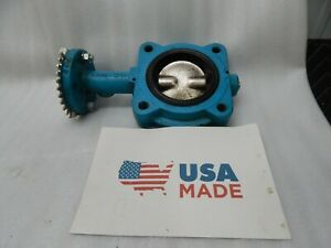 Grinnell Lc 8101 3 Butterfly Valve 3 200 Psi Max 4 1 4 Bolt In Pattern