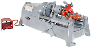 Reconditioned Ridgid 535 V1 Pipe Threading Machine 811a Die Head And Dies