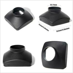 Black Car Suv Cover Inlet 75mm Single Hole Outlet For Air Diesel Parking Heater