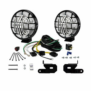 Kc Apollo Pro Halogen 6in Spread 2 Light System For 2018 2021 Jeep Jl Jt 97114