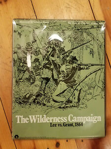 The Wilderness Campaign Lee vs Grant SPI Unpunched $80.00