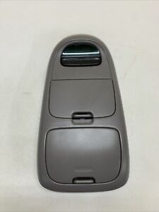 1997 2003 Ford F 150 Expedition Overhead Console Unit W Display Oem Lt Gray