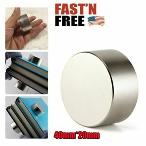 40mm 20mm Neodymium Rare Earth Magnet N35 Big Super Strong Large Size Magnets
