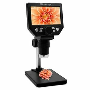 Lcd Digital Usb Microscope 4 3 Inch Screen 1000x Magnification Electronic