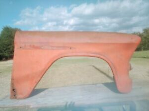1955 1956 Chevy Truck P S Front Fender Oem Original Shipping Available