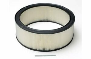 Moroso Replacement Air Cleaner Element Round 14 Od 5 H 97330