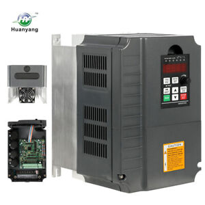 New Vfd Variable Frequency Drive Inverter Ce 7 5kw 220v 10hp 34a