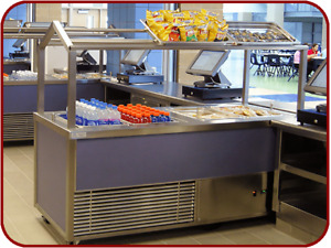 68 Speed Line Hot Cold Food Service Station Buffet Cart Ga Systems Hc68 6582