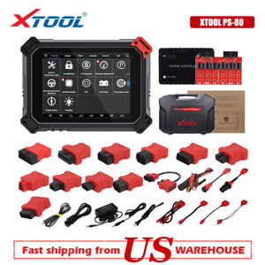 Xtool Ps80 All Systems Auto Ecu Coding Key Programmer Car Dpf Diagnostic Scanner