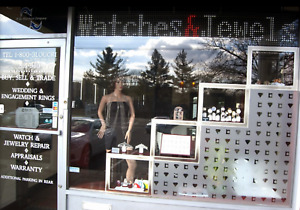 Display Case Wood Glass Led Lights With Keyed Locks Watches Jewelry Etc