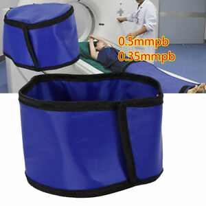 For X ray Shield Head Protection Soft Lead Cap Radiation Safety Blue 0 5mmpb New