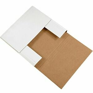 Tape Logic Tlm14144bf Easy fold Mailers 14 X 14 X 4 White Pack Of 50