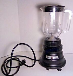 Waring Commercial Bar Blender Bb 150 2 Speed Toggle Control 48 Oz