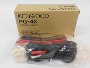 Kenwood Pg 4x Extension Cable Kit For Commercial Two way Radio new In Box
