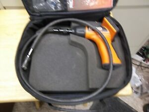 Nice Used Ridgid See Snake Inspection Camera With Case And Book