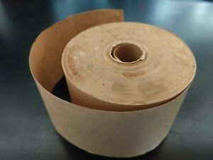 Brown Gummed Paper Packing Tape 3 Wide Roll No Idea How Long