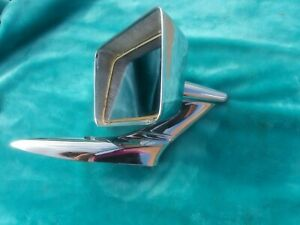 4086 Yankee Rectangle Side Mirror Ford 1957 1958 1959