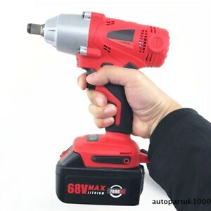 68v Integrated Electric Impact Wrench Cordless Rechargeable 7800 Lithium Battery