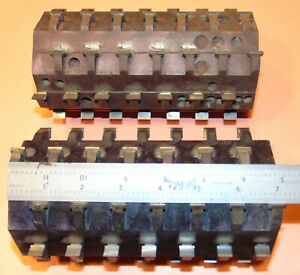 Lot Jointing Cutter Heads Shaper Approx 4 Dia 7 1 1 4 Bore Straight