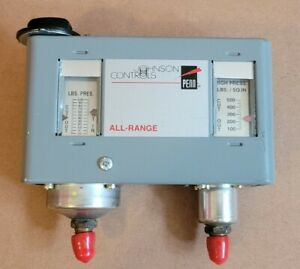 Dual Pressure Control Johnson Controls All range P170lb 1 Sold As Is