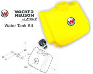 5000114482 Water Tank With Filter For Wacker Wp1540 Wp1550 Plate Compactors