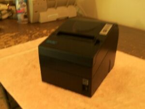 Snbc Btp r880np Thermal Receipt Printer With 25 pin Serial And Usb Connections
