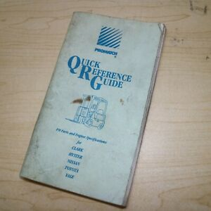 Forklift Quick Reference Guide Manual Specification Clark Hyster Nissan Toyota