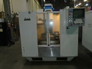 Fadal Vmc 20 Cnc Vertical Mill W Rotary Table 4th Axis Vh65 With Video
