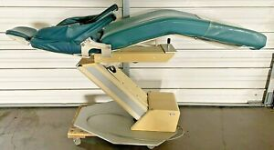 Adec Priority Model 1005 Dental Patient Exam Chair W Teal Green Upholstery 120v
