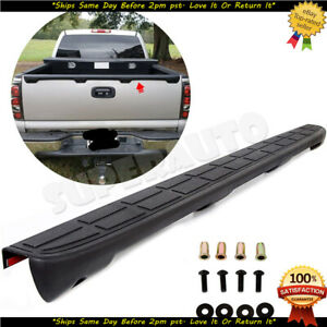 Tailgate Cap Cover Molding Top Protector Fits 99 07 Chevy Silverado Gmc Sierra Fits More Than One Vehicle