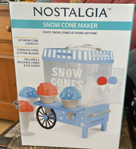 Nibcommercial Snow Cone Machine Maker Shaved Electric Ice Shaver Crusher Shaving