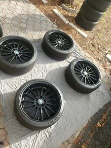 Bmw Style 32 Staggered Wheels And Tires Practically Brand New Michelin Ps4s