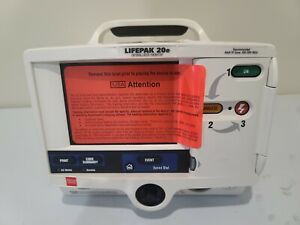 Lifepak 20e With Pacing And Manual Physio Control